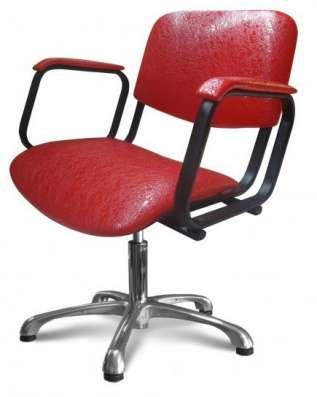 Кресло для парикмахерских Контакт пневматика хром в Нижнем Новгороде Фото 2
