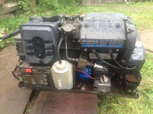 Генератор бенз HONDA EV 6010 100 V б/у. (Япония)