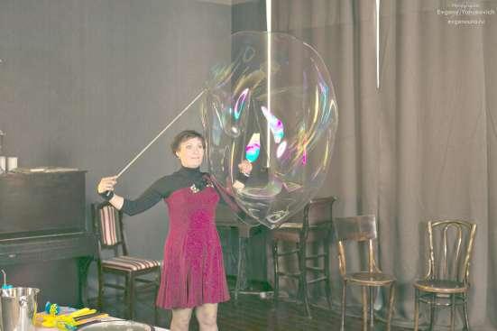 Шоу гигантские пузыри