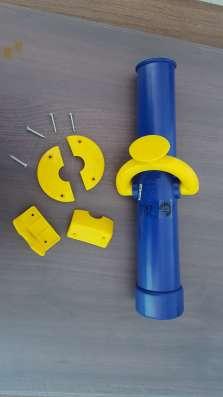Качели, горки, пластиковые заглушки для труб, профиль еврошо