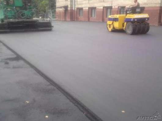 Асфальтирование дорог в Новосибирске Фото 1