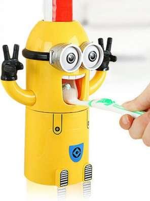 Детский дозатор зубной пасты Миньон в Санкт-Петербурге Фото 2