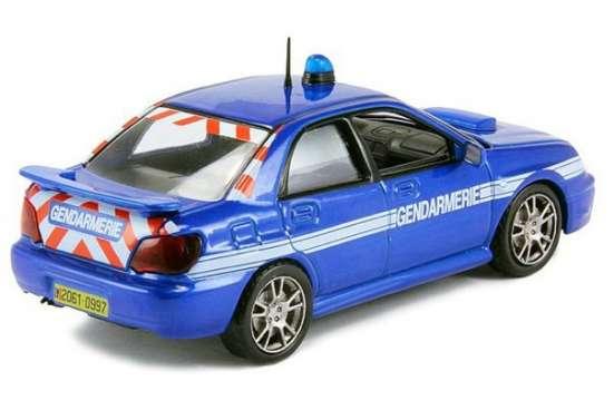 полицейские машины мира №4 SUBARU IMPREZA полиция франции в Липецке Фото 5