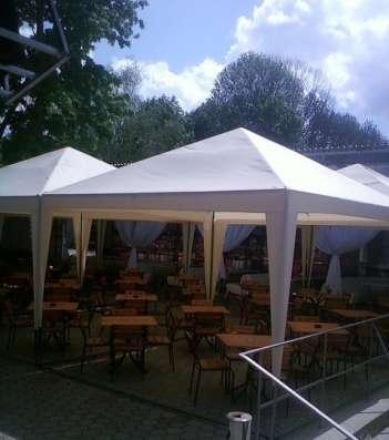 Тенты и шатры для уличных кафе в Краснодаре