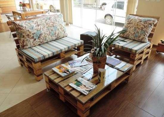 Мебели из поддонов на заказ в г. Алматы Фото 1