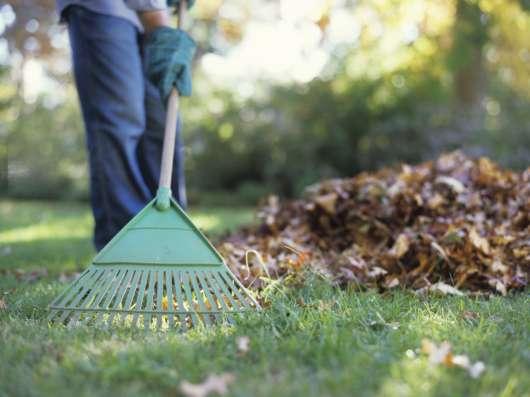 Уборка садовых участков
