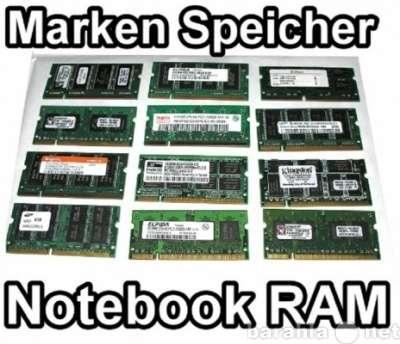 Модули памяти для Ноутбуков, RAM DDR1,DDR2,DDR3