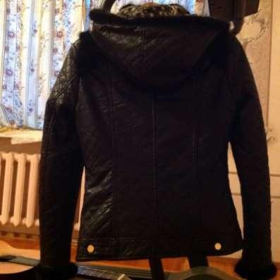 куртку искуственная кожа