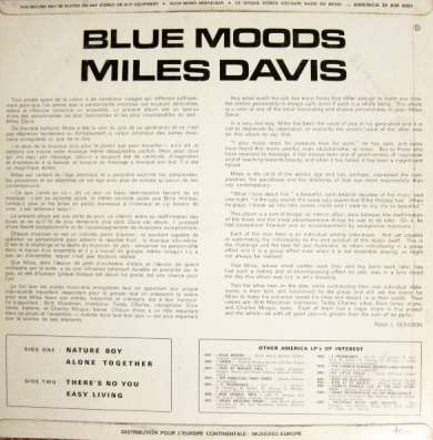 Miles Davis - Blue Moods в Санкт-Петербурге Фото 3