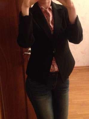 Пиджак черный классика