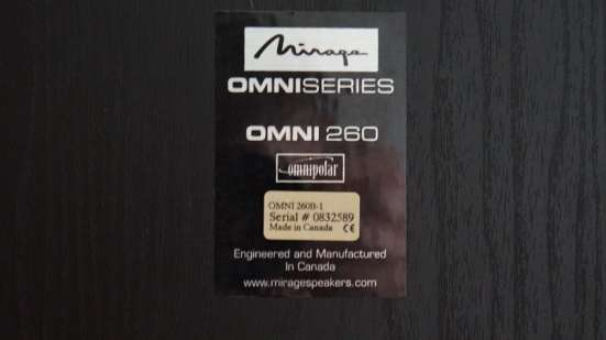 Mirage Omni 260