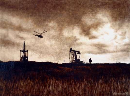 Картины нефтью на холсте