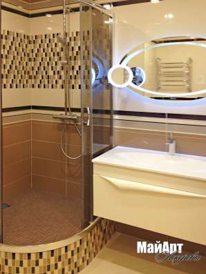 Ремонт ванной комнаты с дизайнером
