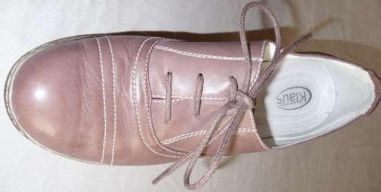 Туфли-полуботинки, натуральная кожа, р-38 в Новосибирске Фото 4