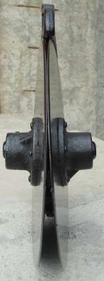 Сошник двухдисковый для сеялок