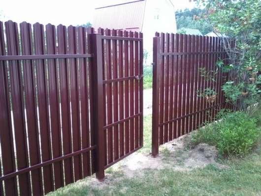 Заборы калитки ворота в Курске Фото 1