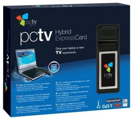 TV тюнер pctv hybrid pro expresscard