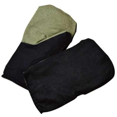 Комбиннированые рукавицы зимние