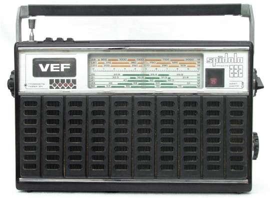 Радиоприемник VEF -Спидола, модель 232 В отличном состоянии