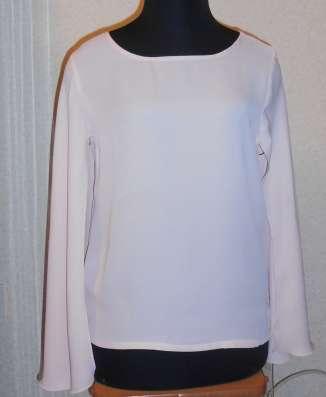 Блузка летняя, легкая, шифон