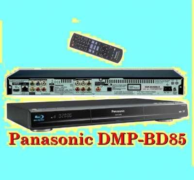 Blu-Ray плеер Panasonic DMP-BD85— это новейшие технологии,  выс воспроизведения