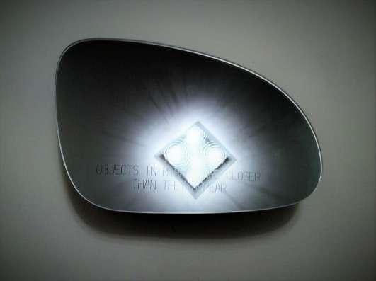 Стекло наружного зеркала правое 1K0857522A VAG