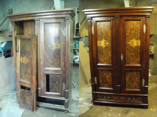 Ремонт и реставрация мебели в г. Одесса Фото 3