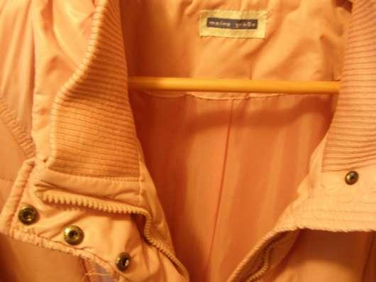 Розовая куртка (р.54)