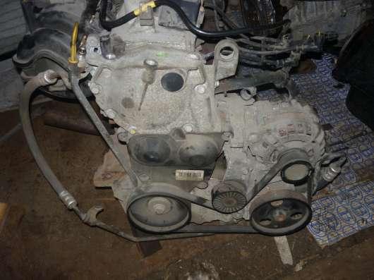 Renault Sandero двигатель в сборе 1.6л. K7MF710