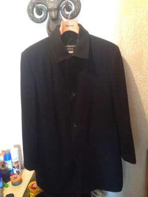Пальто кашемировое мужское