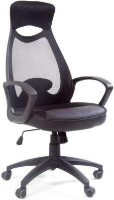 Кресло для руководителя СН-840 черный пластик