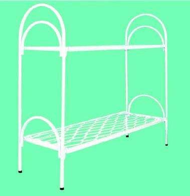 Кровати металлические двухъярусные, кровати для рабочих, кровати оптом, кровати для больницы, армейские кровати. От производителя.