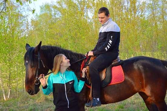 Романтическая конная прогулка в Нижнем Новгороде Фото 4