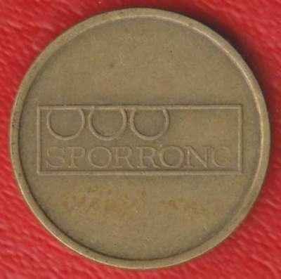Жетон игровой Sporrong Швеция 19 мм
