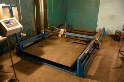 Портальный станок плазменной резки метал в Чебоксарах Фото 4