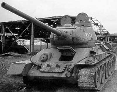 Танк т 34-85 рсфср 85