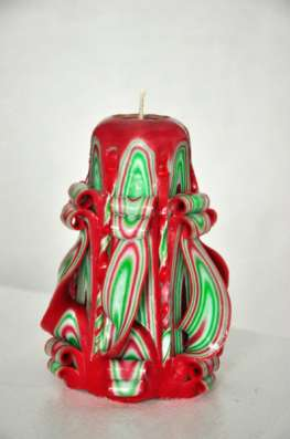 Резные свечи ручной работы в Челябинске Фото 1