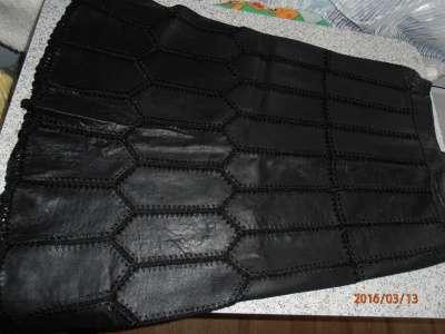 юбка кожаная 46р-р в Чебоксарах Фото 2