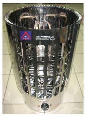 Электрическая печь в сауну Сфера ЭКМ-4,5кВт