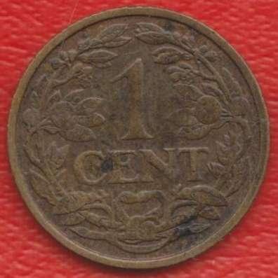 Нидерланды Голландия 1 цент 1928 г