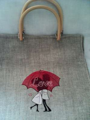 Текстиль с машинной вышивкой