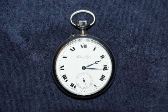 Карманные часы Павелъ Буре. Россия-Швейцария, 1918 год