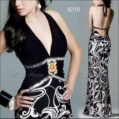 Длинное вечернее платье Гермес
