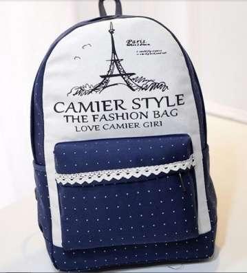 Рюкзак Париж синий белый в г. Запорожье Фото 1