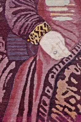 Чистошерстяной ковер ручной работы