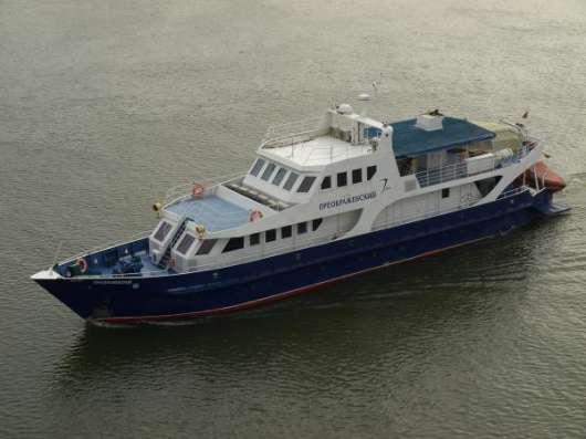 Продается речная яхта на 10 кают