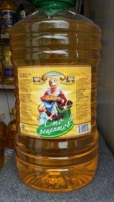 Масло подсолнечное оптом в ассортименте в Уфе