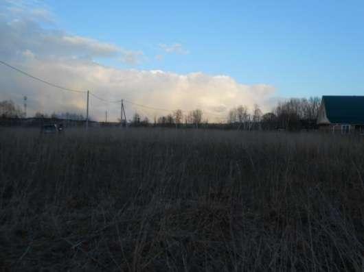 Продается земельный участок 12 соток в д. Шебаршино, Можайский р-он,123 км от МКАД по Минскому шоссе.