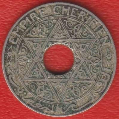 Марокко Французское 25 сантимов 1921 г.