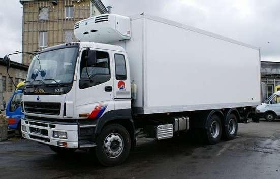 Услуги грузоперевозки изотермическими фургонами